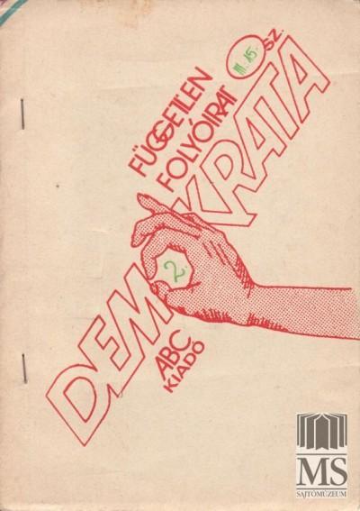 demokrata - 1989 mrcius 15