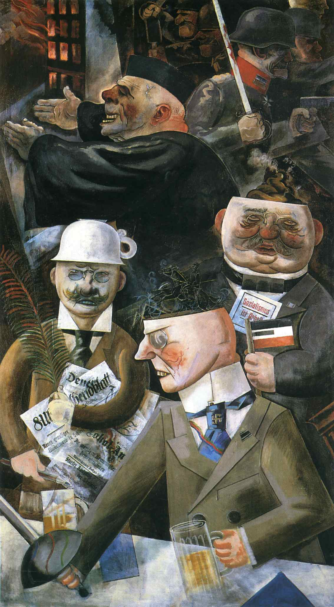 grosz the-pillars-of-society-1926